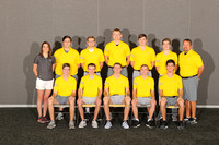 2018 Men's Golf Team and Mugs